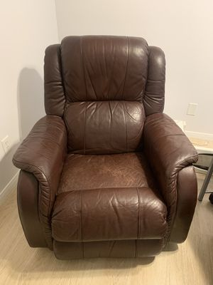 Leather, Rocking Recliner for Sale in San Diego, CA