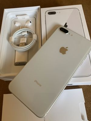 iPhone 8 Plus silver 64gb for AT&T or cricket for Sale in Montebello, CA