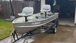 12ft aluminum boat for Sale in Fresno, CA