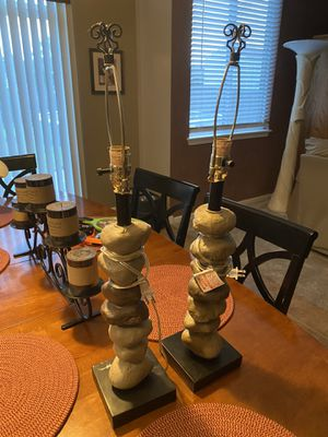 Rock lamps for Sale in Plainfield, IL