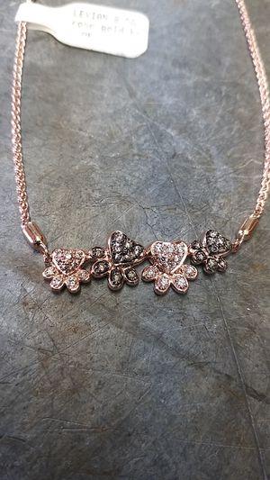 LeVian Diamond Paw Print Bolo Bracelet for Sale in Beaverton, OR
