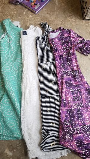 Size 12 girls dresses include gap and lularoe for Sale in Parkersburg, WV