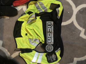 Kobayashi and icon motorcycle jackets. for Sale in Sterling, VA