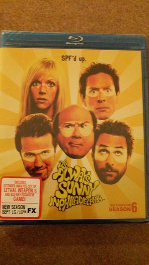 Complete It's always Sunny in Philadelphia season 6 Blu ray for Sale in Yuma, AZ