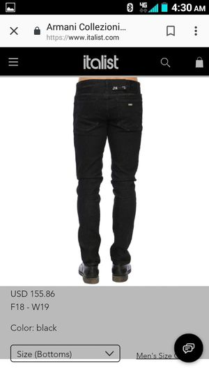 $140.00 ARMANI EXCHANGE JEANS (SIZE:33) for Sale in Silver Spring, MD