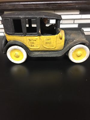 Solid cast iron taxi for Sale in St. Petersburg, FL