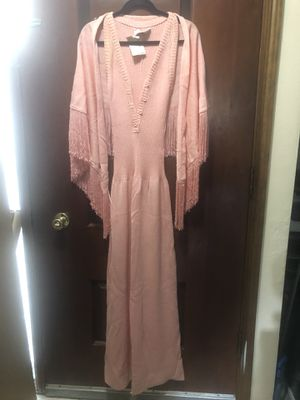 Baby Pink dress with Shawl for Sale in Portland, OR
