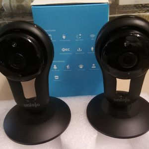 Two Indoor IP WiFi Security Camera's for Sale in Oklahoma City, OK