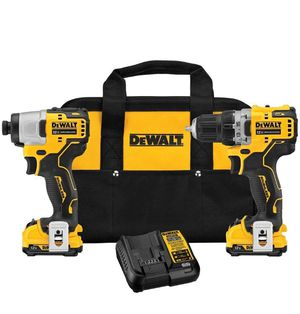 DeWALT DCK221F2 XTREME 12V MAX Brushless Cordless Drill and Impact Combo Kit for Sale in Tacoma, WA