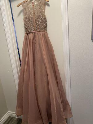 Beautiful rose gold prom, quinceañera dress for Sale in Grand Terrace, CA