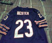 Like new ALL stitched Chicago bears devin hester jersey youth size XL 16-18 excellent condition for Sale in PA, US