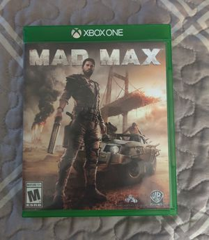 Mad Max, Xbox One for Sale in Corning, NY