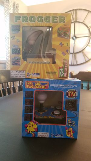Ms. PAC-MAN & FROGGER for Sale in Grand Rapids, MI