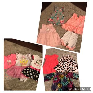 6 month baby girl lot for Sale in Fort Myers, FL