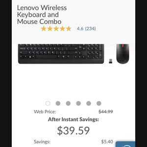 Computer Wireless Keyboard and Mouse for Sale in Riverside, CA