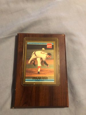 Nolan Ryan Card for Sale in Houston, TX