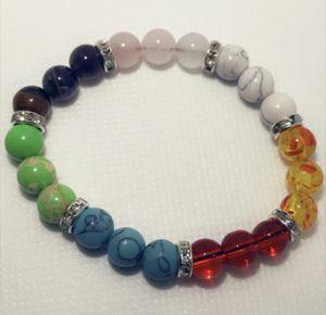 7 Chakra Bracelet , Chakra Bracelet, Chakra Jewelry, Chakra Lava Bead Bracelet, Heal Bracelet, Mala Bead Bracelet, Lava Bracelet for Sale in Lake Mary, FL