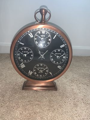 Copper Antique Clock for Sale in Manassas, VA