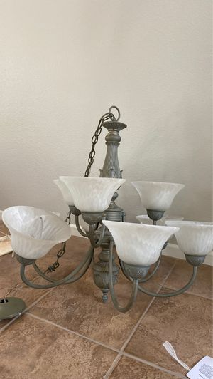 Cheap chandelier with 9 bulbs for Sale in San Diego, CA