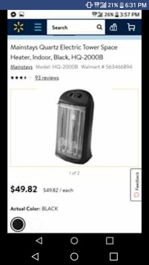 Heater for Sale in Missoula, MT