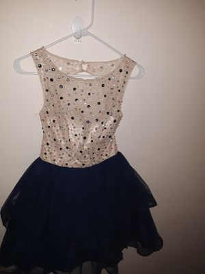 Cream and Blue Dress for Sale in Parma Heights, OH