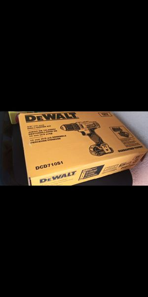 Need a Dewalt Drill, Battery, Charger and Tool Bag Combo? for Sale in Escondido, CA