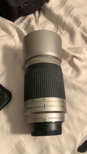 Nikon AF Nikkor /70-300mm lens for Sale in Miami Gardens, FL