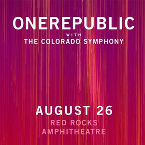 OneRepublic at Red Rocks 2 tickets (Row 22/CenterRight/$160 each) for Sale in Denver, CO