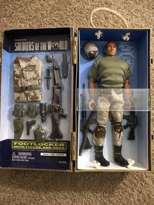 Toy collectable. Soldiers of The World. Desert Storm for Sale in Winter Haven, FL