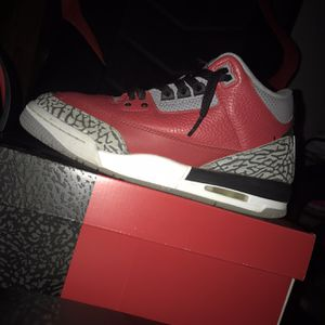 jordan 3 retro se unite fire red for Sale in Waterbury, CT