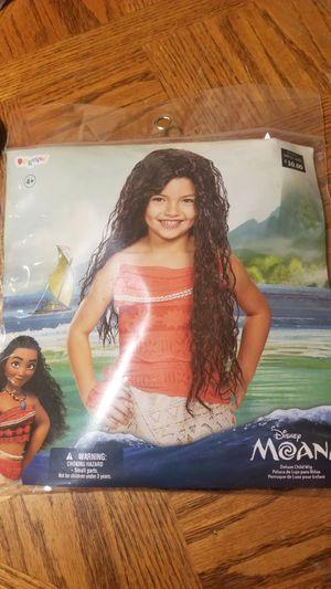 Disney moana Halloween costume wig for Sale in San Diego, CA