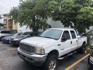 2003 Ford 350 7.3 Diesel 4 x4 for Sale in Miami, FL