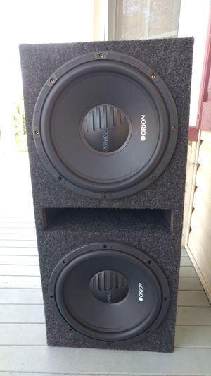 12 inch orion sub for Sale in Plainfield, NJ