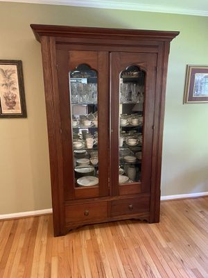 Antique China cabinet for Sale in Oakton, VA