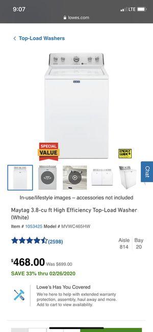 Washer for Sale in Midland, MI