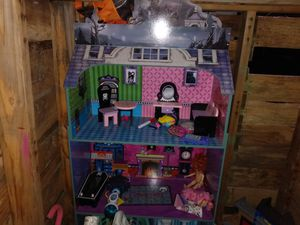 Super monsters doll house and toys for Sale in Georgetown, TX
