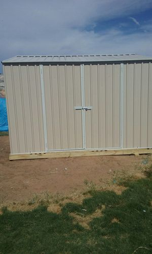 10x 10 metal storage shed. for Sale in El Paso, TX
