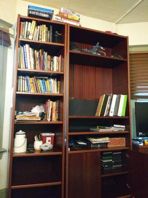 Cherry oak bookshelves for Sale in Portland, OR