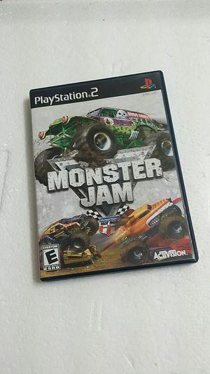 Monster Jam, PS2 for Sale in El Cajon, CA
