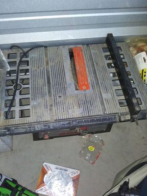 "Metabo 10 "" bench table saw for Sale in Thornton, CO"
