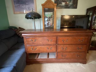 Solid wood dresser for Sale in Edgewood,  WA
