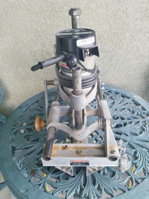 Porter Cable door lock mortiser The Real McCoy for Sale in Cypress, CA