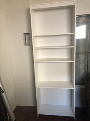 White Bookcase for Sale in Glendale, AZ