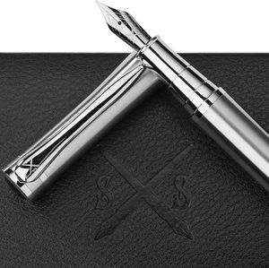 Scribe Sword Fountain Pen - Highest Possible Quality - Best Calligraphy Pens For Smooth Elegant Writing - Business Luxury Gift Box - Perfect For Gifts for Sale in McCalla, AL