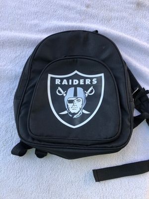 Raiders backpack for Sale in Fresno, CA