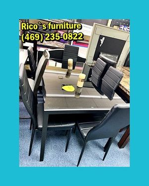 New table wht 6 chair for for Sale in Cedar Hill, TX