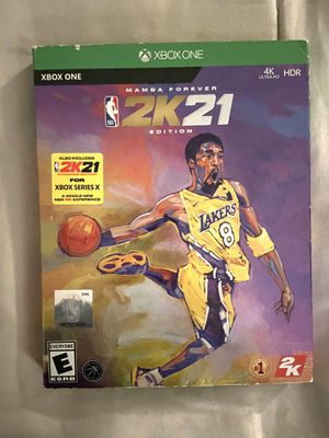 XBOX ONE 2K21 Mamba Forever Edition for Sale in Tolleson, AZ