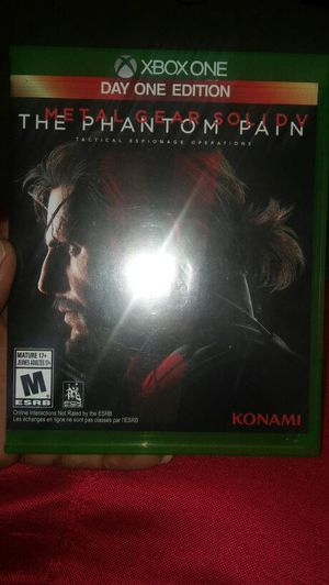 Metal gear solid 5 for Sale in Saint Louis, MO