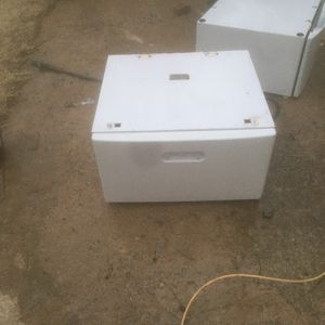 Laundry Storage Pedestal Drawers for Sale in Oklahoma City, OK