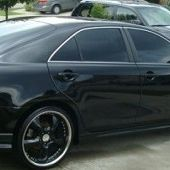 SUPERB FOR SALE TOYOTA CAMRY 2007 BLACK for Sale in Houston, TX